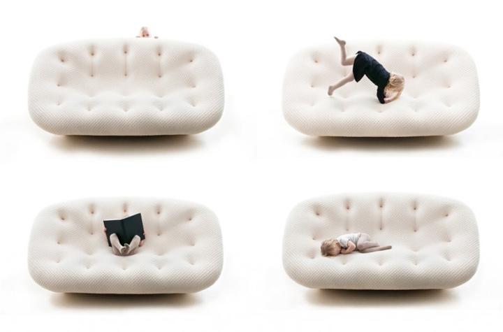ploum sofa by ronan erwan bouroullec for ligne roset retail design blog. Black Bedroom Furniture Sets. Home Design Ideas