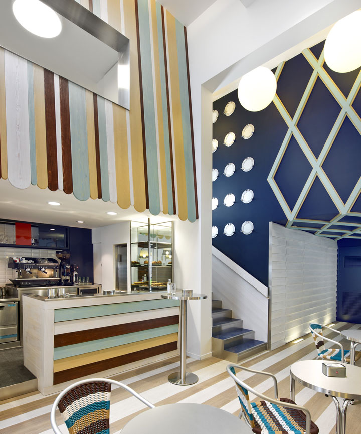 Possi ice cream parlour by antonio gardoni brescia italy retail design blog - Studio interior design brescia ...