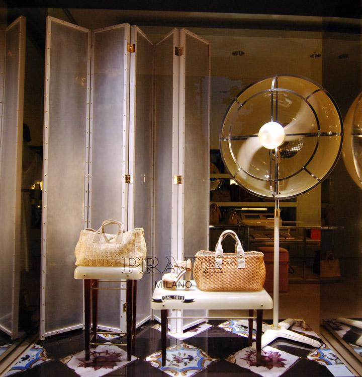 Prada Window Display Paris Retail Design Blog