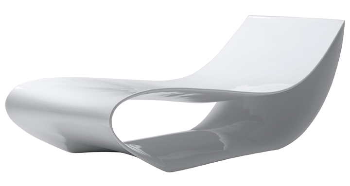 Sign chaise longue by MDF Italia » Retail Design Blog