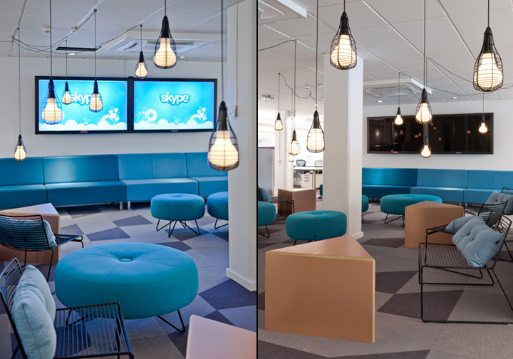 187 skype offices by ps arkitektur stockholm
