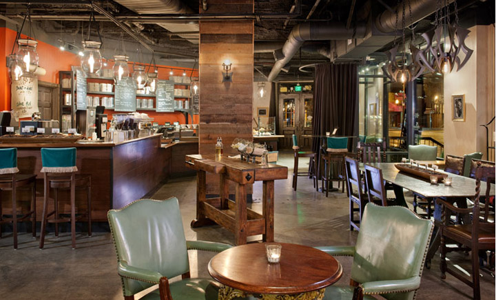 Starbucks Roy Street Coffee amp Tea Seatle Retail Design Blog