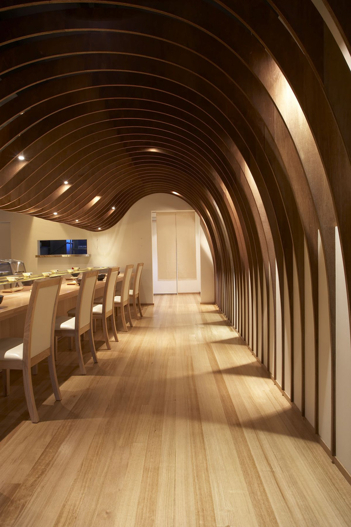The cave restaurant by koichi takada architects sydney