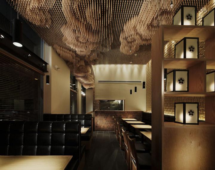Tsujita restaurant by takeshi sano los angeles retail