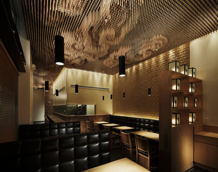 Tsujita restaurant by takeshi sano los angeles retail