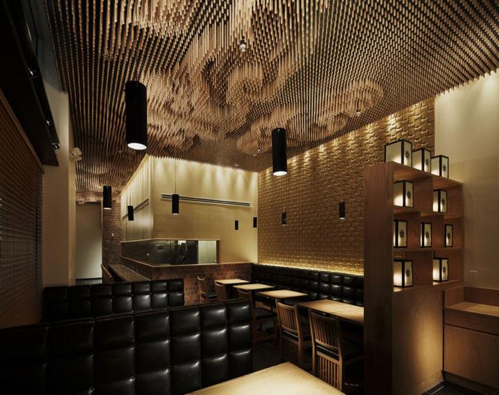Tsujita restaurant by takeshi sano los angeles retail design blog - Restaurant design ...
