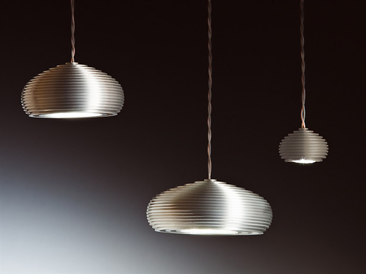 Ufo Suspended Aluminium Lamp By Pepe Tanzi 187 Retail Design Blog
