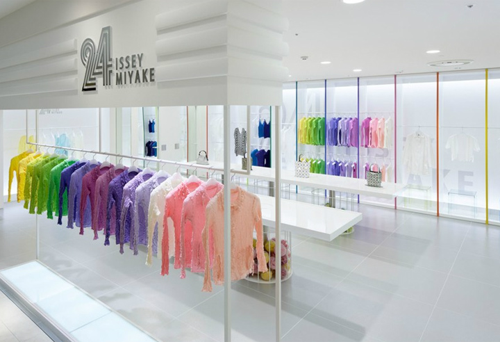 24 Issey Miyake store by Moment Design, Hakata » Retail Design Blog