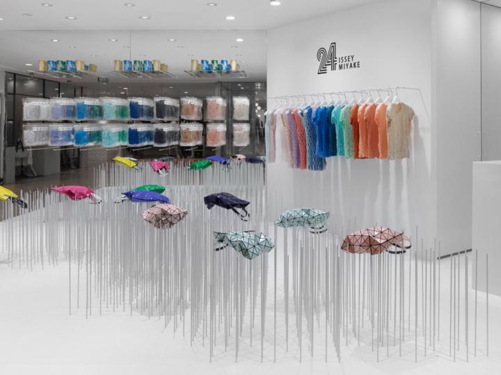 24 issey miyake store retail design blog for Design shop 24