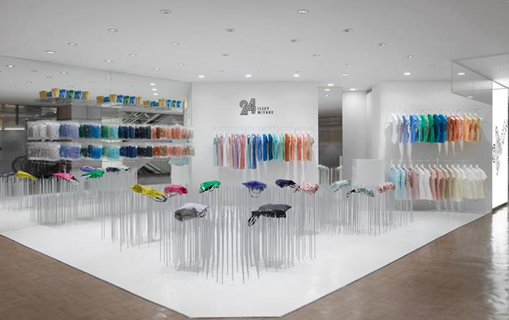 issey miyake retail design blog