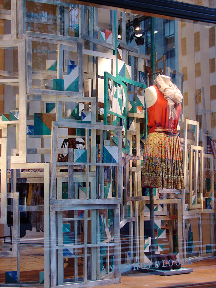 U00bb Anthropologie Windows 2011 Summer  New York