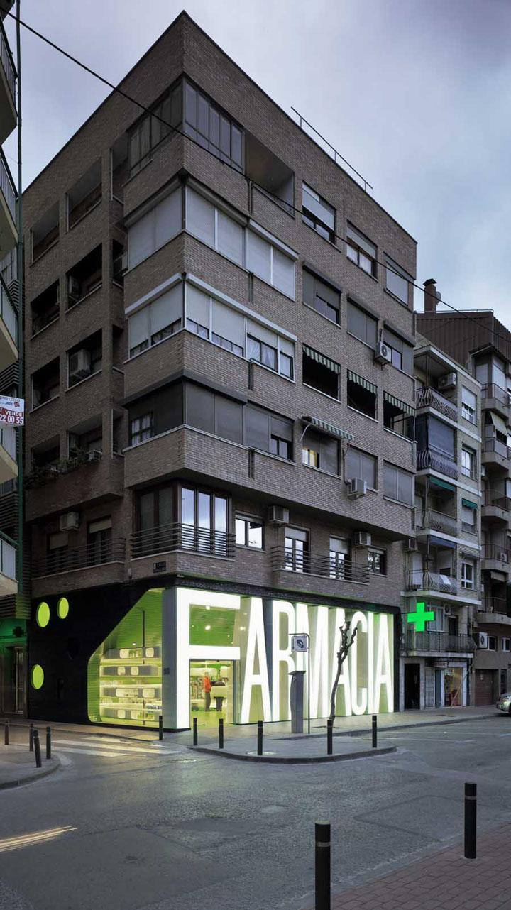 Casanueva pharmacy by clavel arquitectos murcia spain - Clavel arquitectos ...