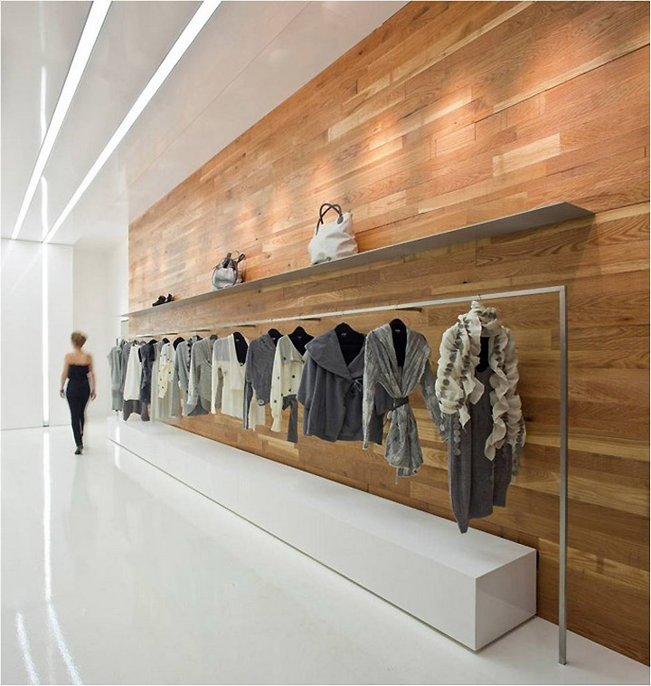 Architecture clothing store