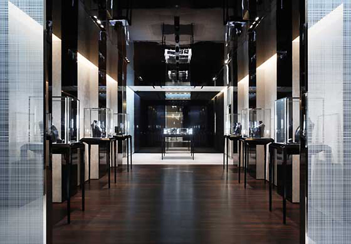De Beers Jewelry By CAPS Architecture Interior Design Tokyo Impressive Jewelry Store Interior Design Ideas