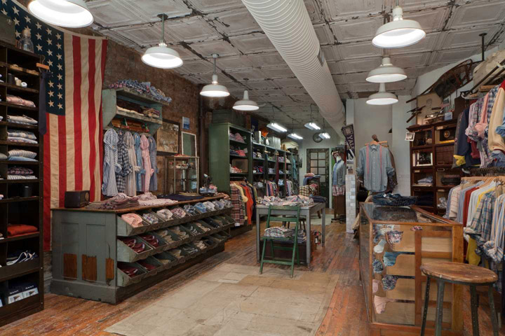 Gant Rugger Store New York Retail Design Blog