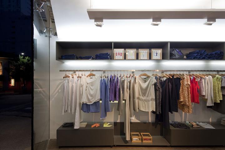 Clothes hanger view