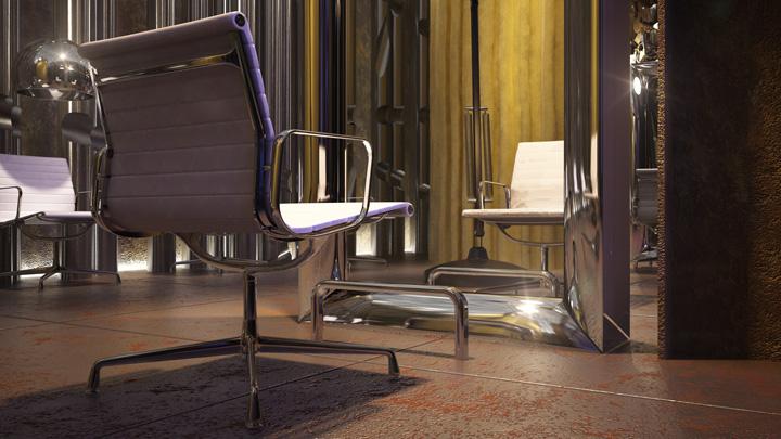 Spektrum home hair dressers shop interiordesign concept for M concept interior design