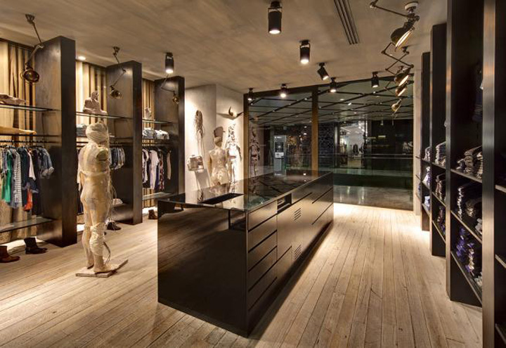 187 Ksubi Fashion Store At Westfield By Akin Creative Sydney