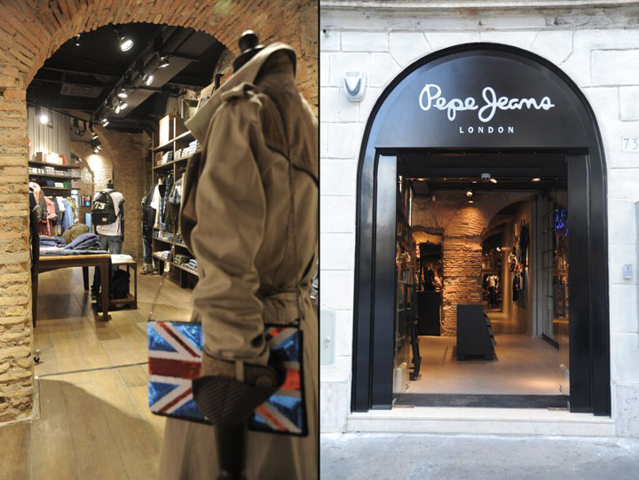 best loved 2b78d c74d3 Pepe Jeans London flagship store, Rome