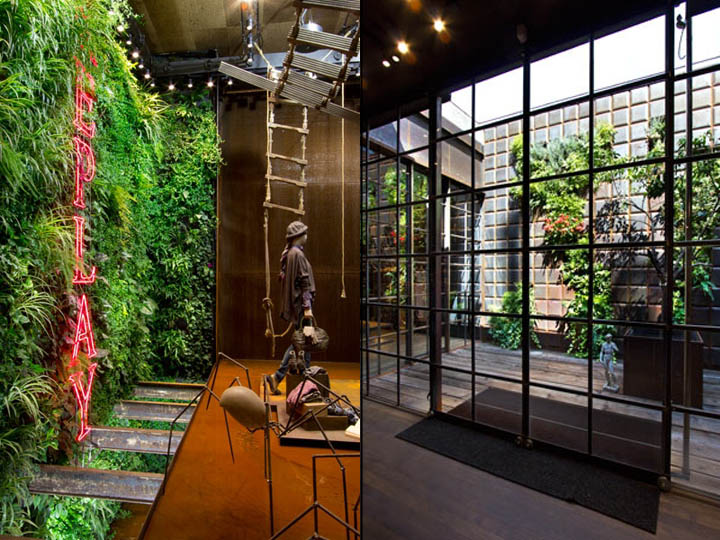 » Replay Store by Vertical Garden Design, Barcelona