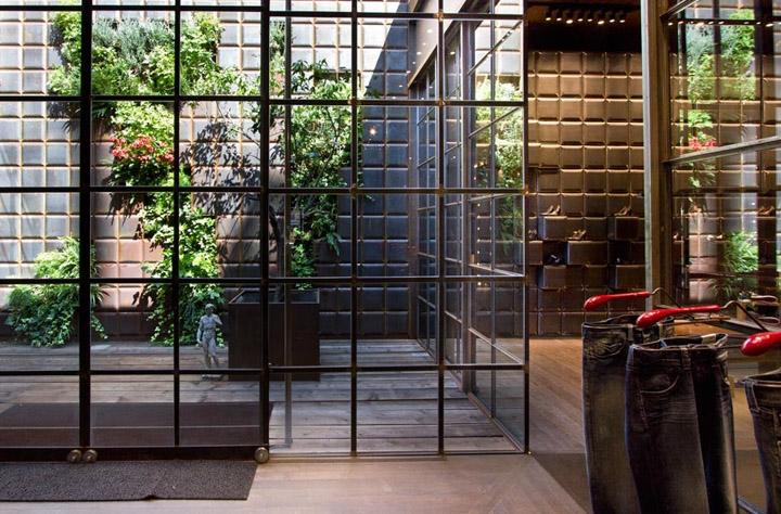 Garden Design Grid replay storevertical garden design, barcelona » retail design blog