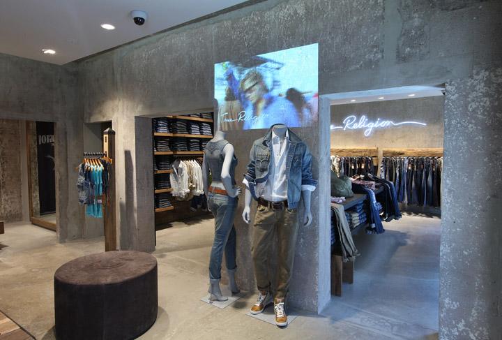 True Religion Jeans Store Berlin 187 Retail Design Blog