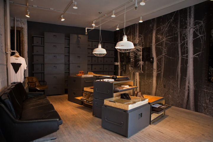 vane x sebago concept store new york. Black Bedroom Furniture Sets. Home Design Ideas
