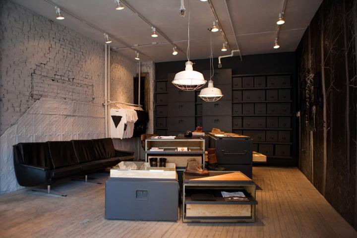 Vane X Sebago Concept Store New York Retail Design Blog
