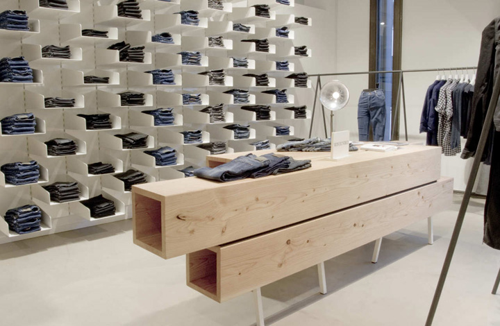 Won Hundred Store by MAPT Copenhagen Retail Design Blog