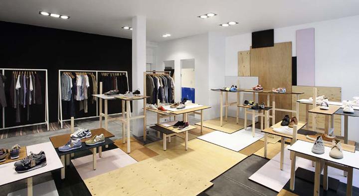 Wood Flagship Store By Karl Oskar Olsen Copenhagen Retail
