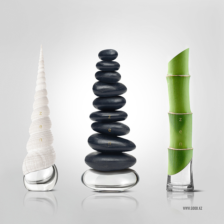 Zen perfume concepts by good