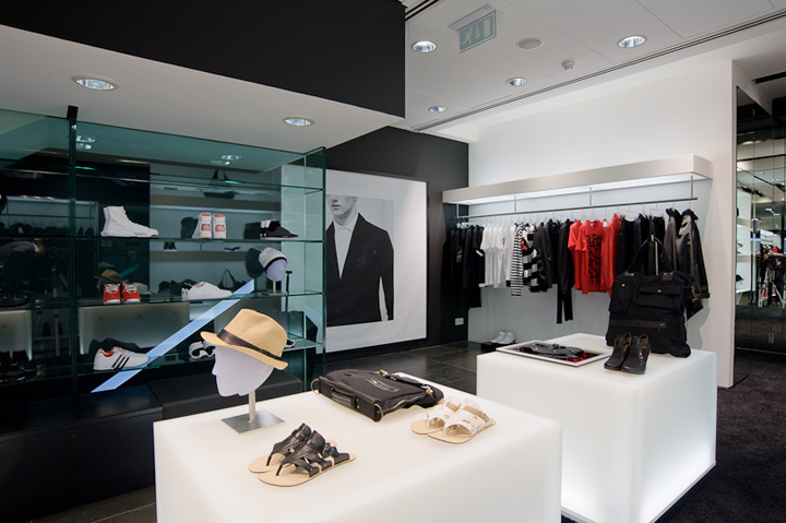store in Conduit Street  Y 3 Opens Flagship Store At Conduit Street In London