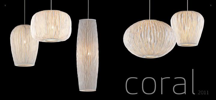 coral lamp by arturo alvarez
