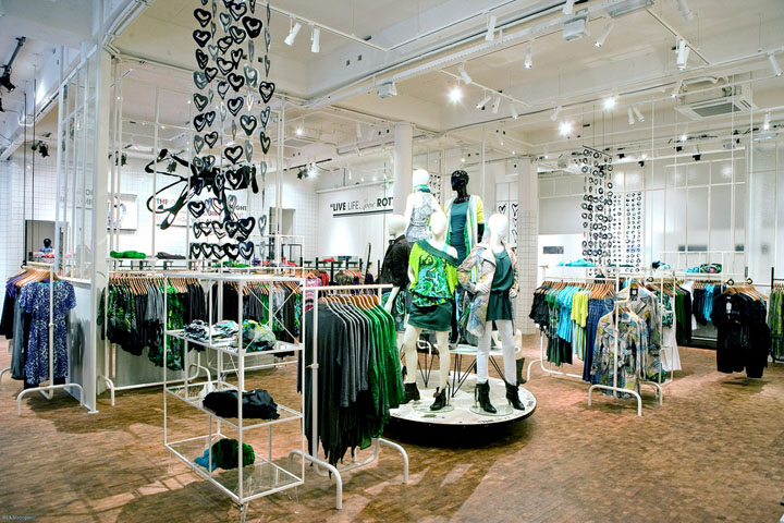 Department Clothing Store Interior Dept store by bear & bunny