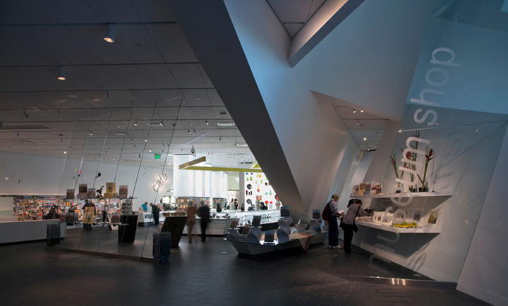 Denver Art Museum, Museum Shop by Roth Sheppard Architects, Denver ...