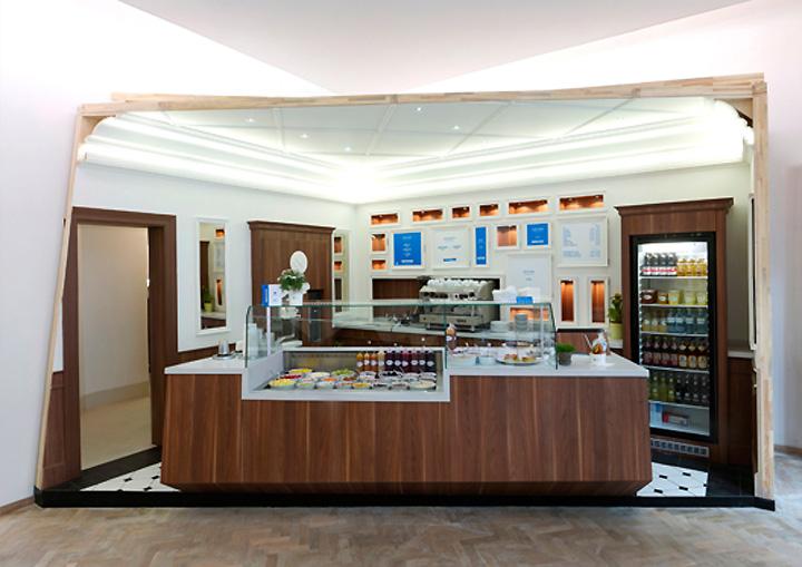Efas Frozen Yogurt Shop By ZWEIDREI Berlin Retail Design Blog