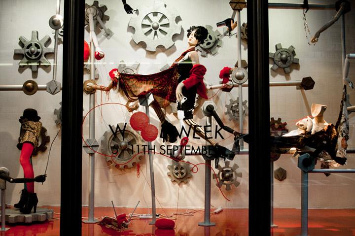 Harvey Nichols window displays, London