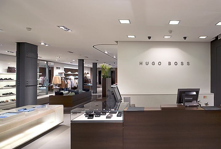 Hugo Boss Flagship Store By Lewis And Hickey London