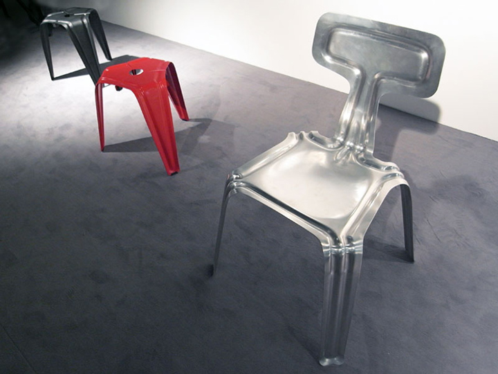 Pressed Chair By Harry Thaler Pressed Chair By Harry Thaler