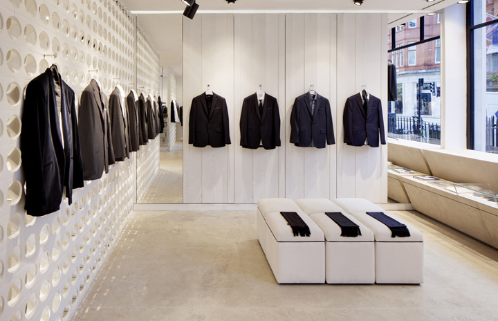 Spencer Hart flagship store by Shed and Nick Hart, London » Retail ...