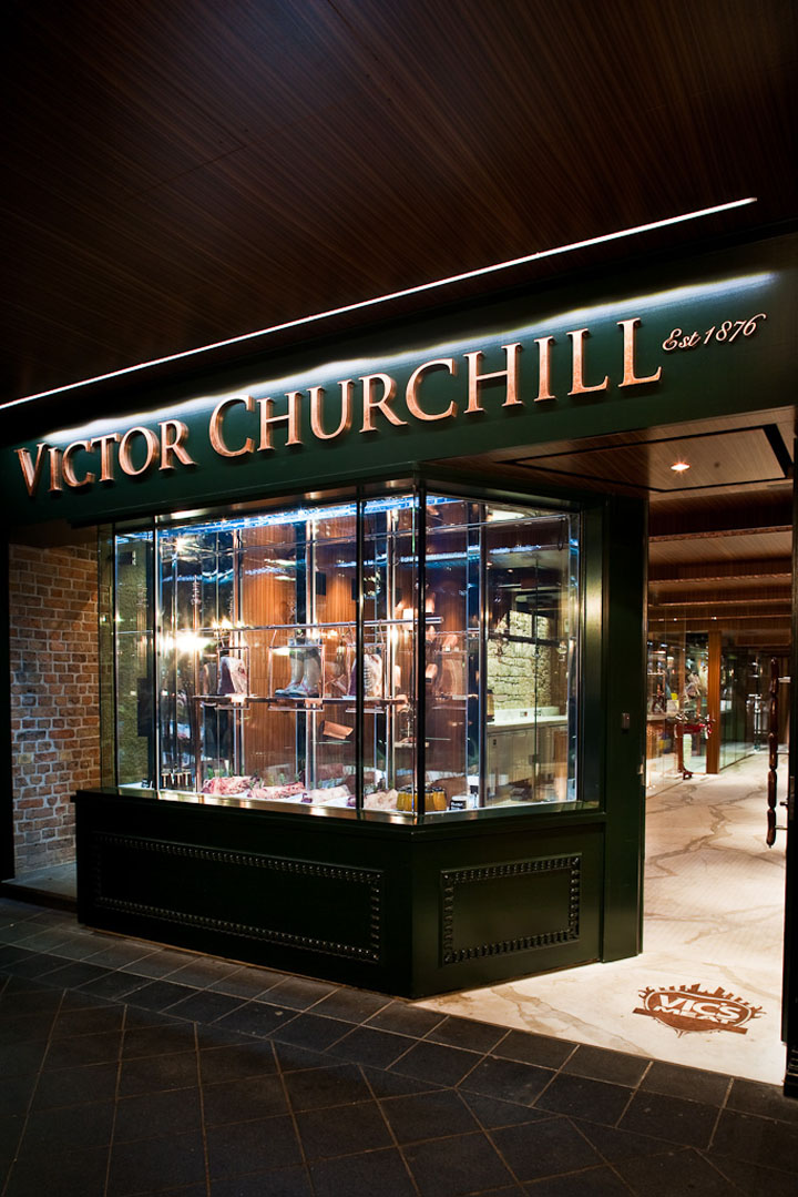 Victor Churchill Butcher Shop By Dreamtime Australia