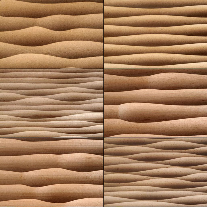187 Wave Panels By Georg Ackermann