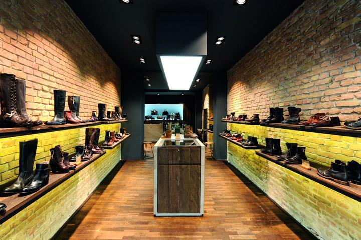 14 oz shoes store berlin retail design blog. Black Bedroom Furniture Sets. Home Design Ideas