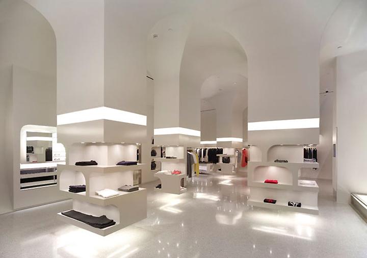 Alexander Mcqueen Flagship Store By Pentagram Los Angeles