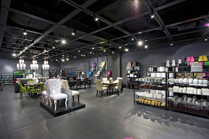 Aura Store By Dalziel And Pow Riyadh Saudi Arabia