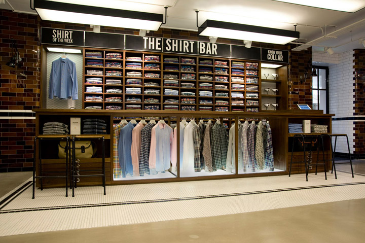 Ben Sherman flagship store by Brinkworth London 02 Ben Sherman flagship store by Brinkworth, London