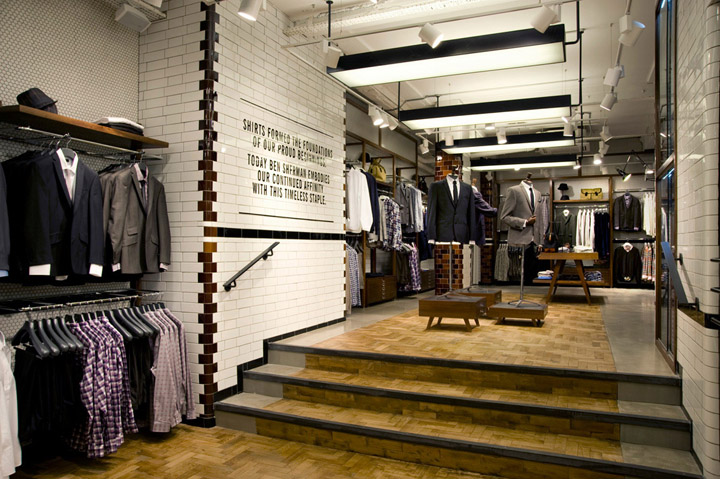 Ben Sherman flagship store by Brinkworth London 03 Ben Sherman flagship store by Brinkworth, London
