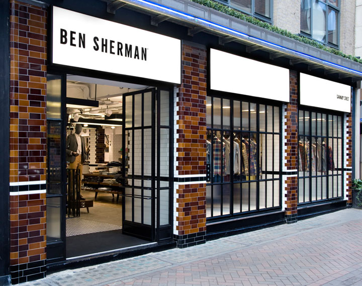 Ben Sherman Flagship Store By Brinkworth London Retail