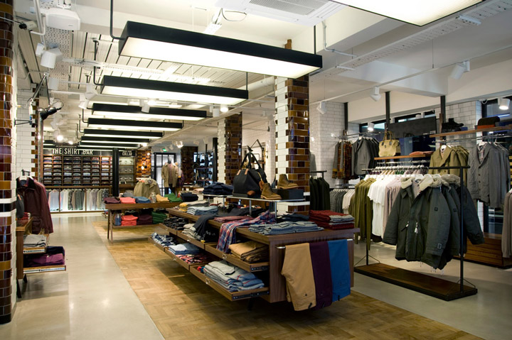 Ben Sherman flagship store by Brinkworth London Ben Sherman flagship store by Brinkworth, London