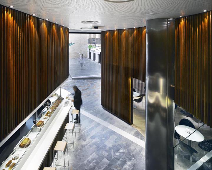 Caf del arco by clavel arquitectos murcia spain retail design blog - Arquitectos murcia ...